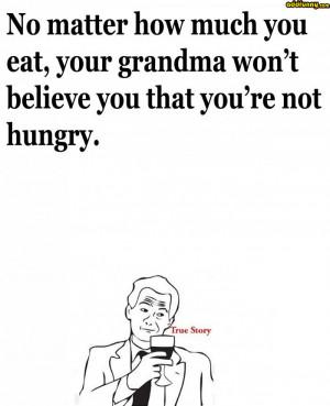 Oh grandma, you so silly random