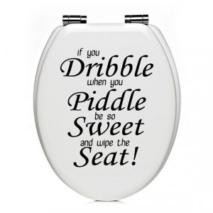... Bathroom, Bathroom Wall Decals Quotes, Toilets Seats, Wall Quotes