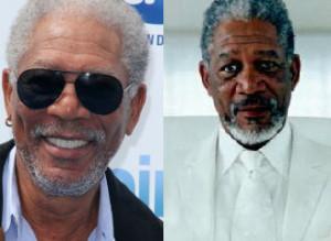 Morgan Freeman Bruce Almighty God (morgan freeman), bruce