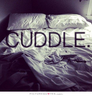 Cuddle Quotes