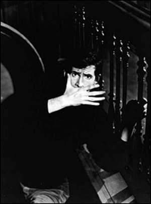 caption The boy next door: Norman Bates in Alfred Hitchcock's Psycho ...