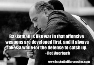... talent with great defense. You've got to stop other teams to win