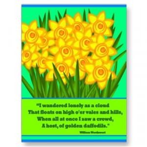 Daffodils - William Wordsworth