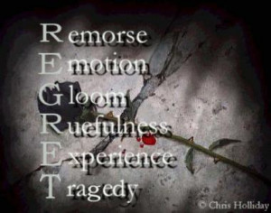 regrets people have on their deathbeds~~