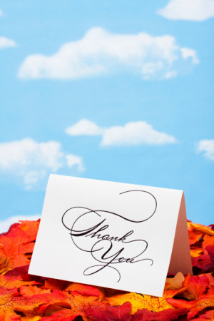 Famous Sayings for Thank You Cards