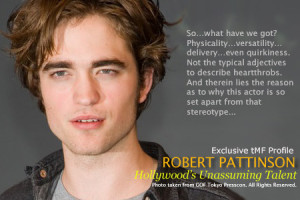 Robert Pattinson: Favorite quotes
