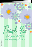 Thank You Cards for Caregiver