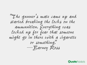 Barney Ross