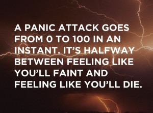 25 Stories Of Panic Attacks And Living With Anxiety... this quote is ...