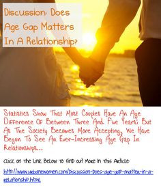 Discussion: Does Age Gap Matter In A Relationship? - Statistics Show ...