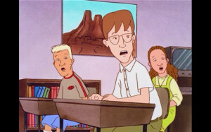 King Of The Hill Boomhauer Boomhauer's son :