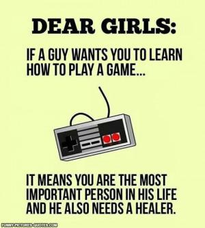 Dear girls…