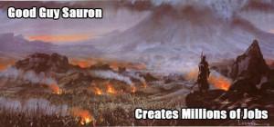 Job creation! haha