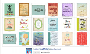 ... FREE! Here is a set of free quotes/posters perfect for the classroom