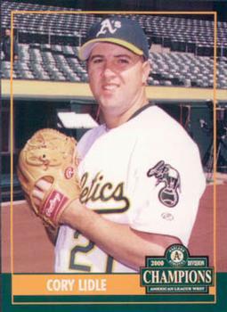 Cory Lidle Baseball Cards