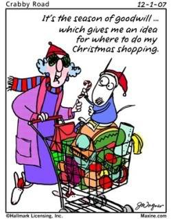 Maxine Celebrates Christmas...