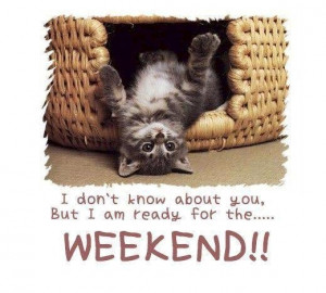 Have an awesome weekend everyone..