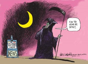 Political Cartoon is by Mike Luckovich in the Atlanta Journal ...