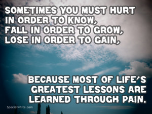 Quotes About Pain And Hurt Quotes About Hurt Feelings