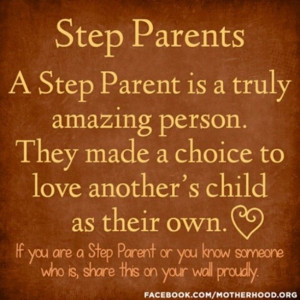 Step Parent Quotes Sayings