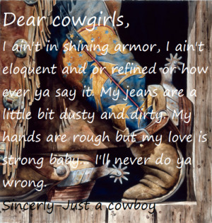 quotes tumblr cowboy cowgirl love quotes view original image cowboys ...