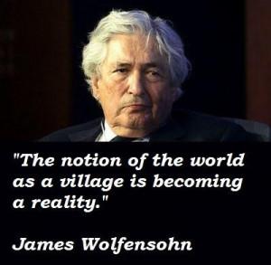 James wolfensohn famous quotes 5
