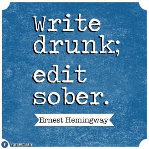 Hemingway was earnest