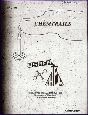 """Breaking:Air Force """"Chemtrails"""" Manual Available For Download"""
