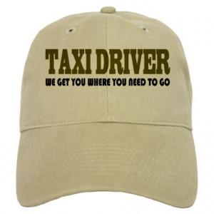 Funny Taxi Driver Cap