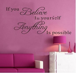 ... English Poetry wall art apothegm wallpaper - quote wall sticker