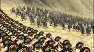 11 views Battle of Thermopylae comp. animated re-enactment
