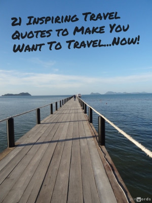 Inspirational Travel Quotes Pinterest
