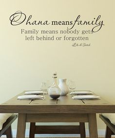 Ohana means family... Hawaiian sayings I have to get this for the ...