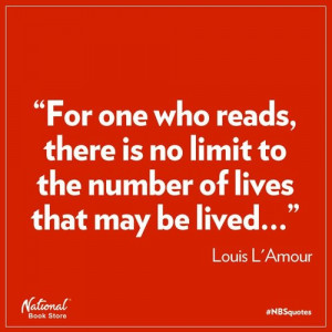 ... Is No Limit To The Number Of Lives That May Be Lived - Book Quote