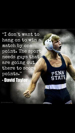 David Taylor- Penn State Wrestling