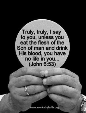 ... read scripture without the answer key the body of christ as communion