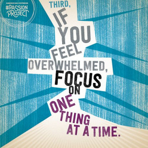 focus on one thing at a time   #study #motivation   via @Jan Wilke ...
