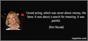 More Kim Novak Quotes