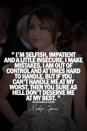 miley cyrus quotes | Tumblr