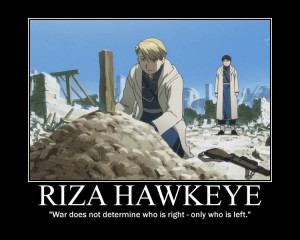 ... brotherhood character riza hawkeye roy mustang quote bertrand russell