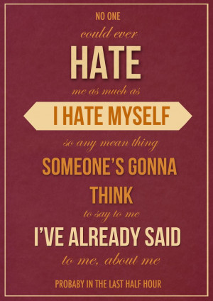 ... girls quotes girl quotes sad quotes i hate myself quotes hannah quotes