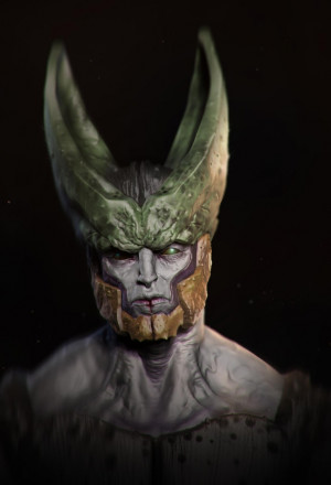 Dragonball Z - Realistic Cell: Perfect Cell, Daniel Kho, Dbz Awesome ...