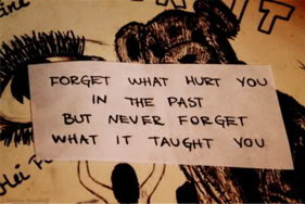... Hurt You In The Past But Never Forget What It Taught You ~ Love Quote