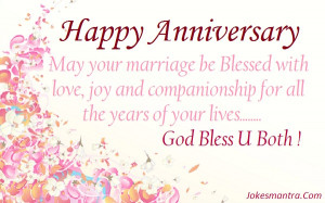 Marriage Be Blessed With Love, Joy And Companionship For All The Years ...