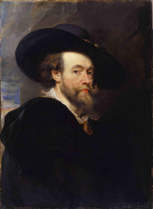 Peter Paul Rubens Self Portrait 1623