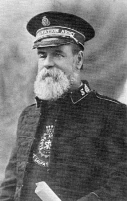 William Booth, first General of the Salvation Army...