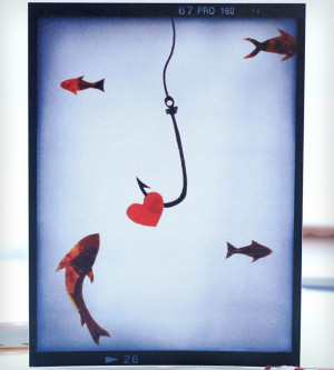 Hook, Line & Sink 'Er Fish Card