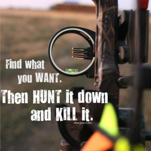 hunting girl quotes on pintrest | ... bow hunting bowhunters deer ...