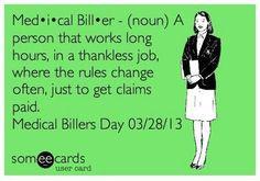 Medical Billers Day!!!!! More