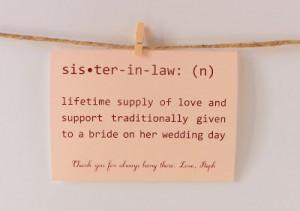 Sister In Law Sayings